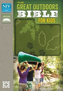 NIV Great Outdoors Bible For Kids Leaf Green (Red Letter Edition)