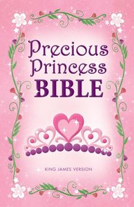 KJV Precious Princess Bible (Red Letter Edition)