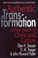 Authentic Transformation Paperback