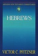 Hebrews (Abingdon New Testament Commentaries Series) Paperback
