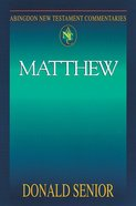 Matthew (Abingdon New Testament Commentaries Series) Paperback
