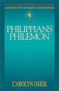 Philippians and Philemon (Abingdon New Testament Commentaries Series) Paperback