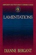 Lamentations (Abingdon Old Testament Commentaries Series)