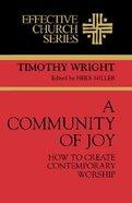Effective Church: A Community of Joy