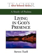Living in Gods Presence (Teachers Guide) (Abingdon Bible Reader Series)