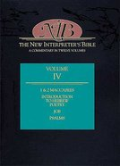 Job-Psalms (#04 in New Interpreter's Bible Series)