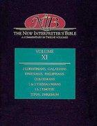 2 Corinthians-Philemon (#11 in New Interpreter's Bible Series) Hardback