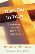 Thank God It's Friday Paperback