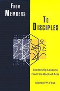 From Members to Disciples Paperback