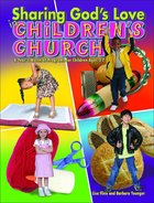 Sharing God's Love in Children's Church Paperback