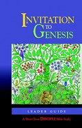 Invitation to Genesis (Leader's Guide) (Disciple Short-term Studies Series) Paperback
