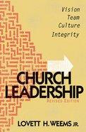 Church Leadership Paperback