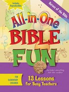 Heroes of the Bible - Elementary (Bible Fun) (All In One Bible Fun Series) Paperback