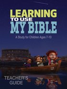 Learning to Use My Bible Teacher's Guide (Ceb) Paperback