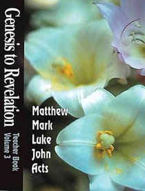 Matthew-Acts (Leaders Guide) (Genesis To Revelation Series)