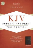 KJV Holman Pulpit Edition (Red Letter Edition)