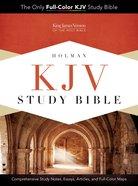 KJV Study Bible Premium Leather Genuine Leather