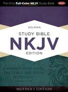 NKJV Holman Study Bible Mother's Edition Turquoise Imitation Leather