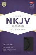 NKJV Ultrathin Reference Bible Charcoal Imitation Leather