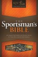 KJV Large Print Sportsman's Bible Mothwing Camouflage