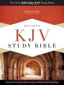 KJV Study Bible Pink/Brown Indexed