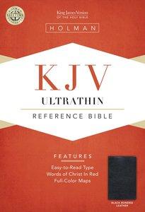KJV Ultrathin Reference Bible Black