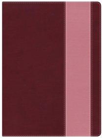 NKJV Holman Study Bible Crimson/Coral