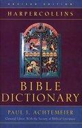 The Harpercollins Bible Dictionary (1996) Hardback