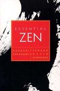 Essential Zen Paperback