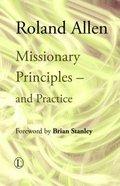 Missionary Principles Paperback