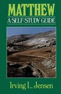Self Study Guide Matthew (Self-study Guide Series) Paperback