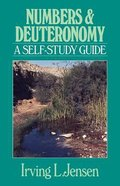 Self Study Guide Numbers & Deuteronomy (Self-study Guide Series) Paperback