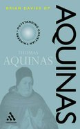 Aquinas (Outstanding Christian Thinkers Series) Paperback