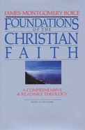 Foundations of the Christian Faith Hardback