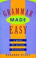 Grammar Made Easy Paperback