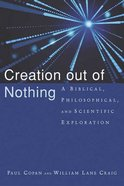 Creation Out of Nothing Paperback