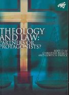 Theology and Law: Partners Or Protagonists? Paperback
