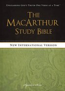 NIV Macarthur Study Bible Signature Series eBook