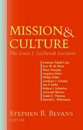 Mission and Culture (American Society Of Missiology Series) Paperback