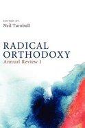 Radical Orthodoxy Paperback