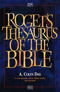 Rogets Thesaurus of the Bible