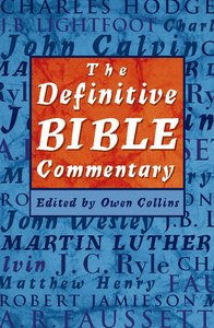 The Definitive Bible Commentary
