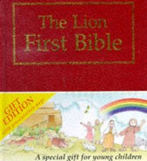 The Lion First Bible (Gift Edition Red)