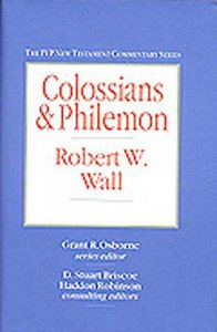 Ivp Ntc: Colossians & Philemon (Ivp New Testament Commentary Series)