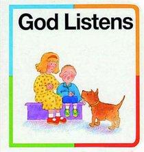 Bible Block Book: God Listens