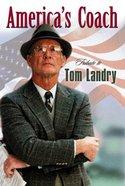 Tom Landry: Tribute (25 Pack) Booklet