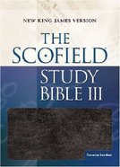 NKJV Scofield III Study Bible Burgundy Genuine Leather