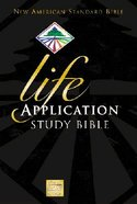 NASB Updated Life Application Burgundy Indexed