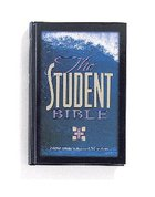 NIV Student Bible Burgundy Bonded Leather
