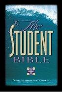 NIV Student Bible Burgundy Indexed Bonded Leather